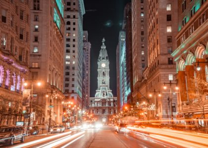 timelapse photography of city